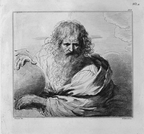 God the Father with the globe in his hands, by Guercino Giovanni Battista Piranesi