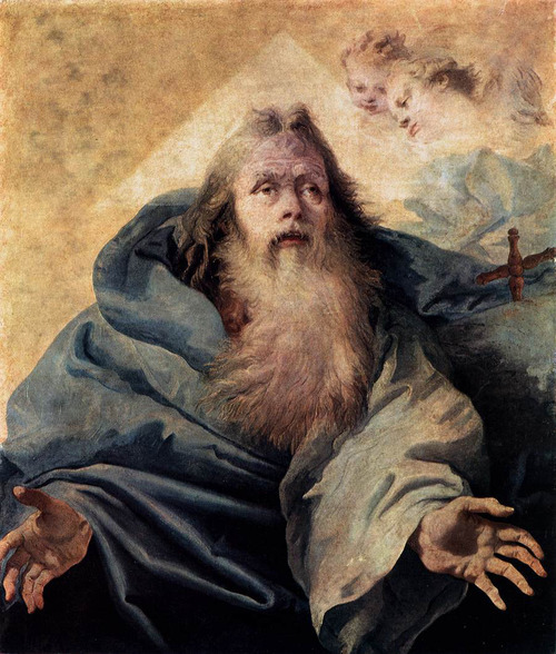 God the Father Giovanni Domenico Tiepolo