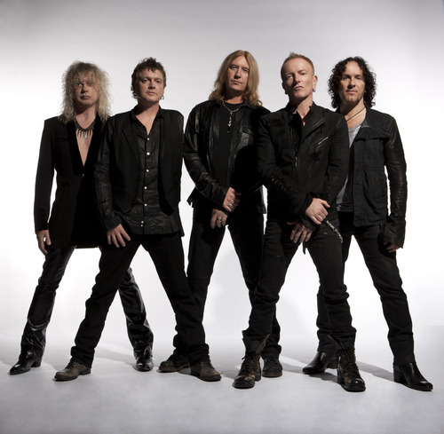 Courtesy photo Def Leppard plays at Usana Amphitheatre on June 20.