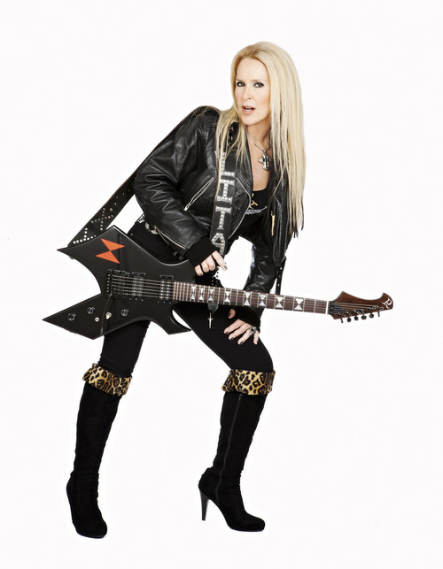 Lita Ford  will perform at Usana Amphitheatre on June 20. Courtesy image.