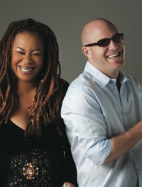 Jazz keyboardist Tizer (right) and singer Karen Briggs are among the national headliners at the 2012 Utah Arts Festival. (Courtesy photo)