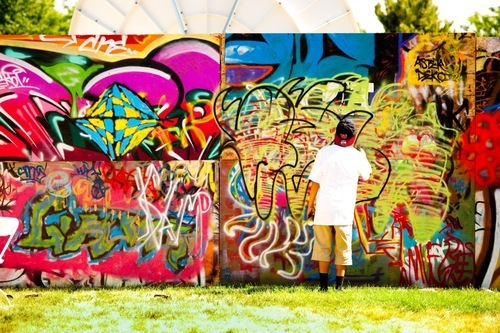The Urban Arts area at the 2011 Utah Arts Festival. (Courtesy photo: Utah Arts Festival)