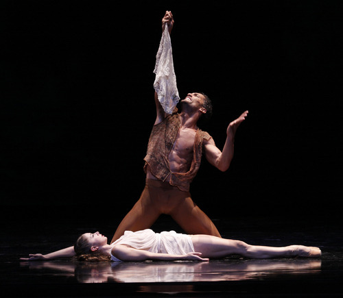 Courtesy Herbert Migdoll April Daly and Fabrice Calmels, dancers for the Joffrey Ballet, in a 2007 performance seen in the documentary