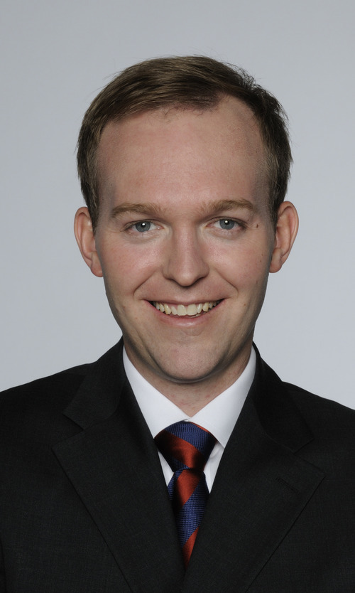Sen. Ben McAdams, D-Salt Lake CIty, who is running for Salt Lake County mayor, has amassed the most campaign money as he awaits the winner of the Mark Crockett-Mike Winder GOP primary.