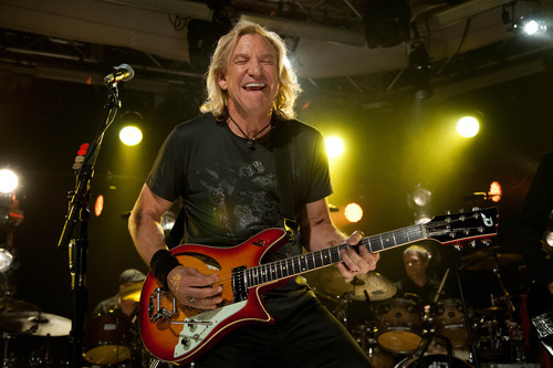 This June 4, 2012 photo released by iHeartRadio shows Joe Walsh performing songs from his new solo album,