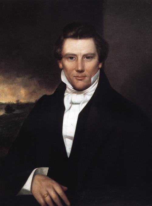 Mormon founder Joseph Smith.