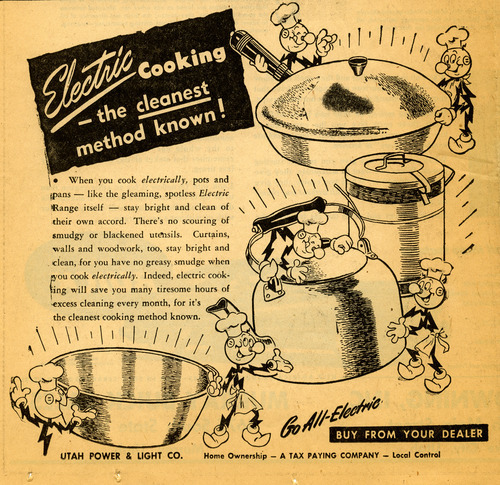 Utah Power and Light ad. May 17, 1948