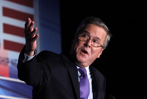 Wilfredo Lee  |  Associated Press file photo  Former Florida Gov. Jeb Bush