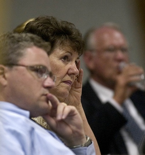 Tribune file photo | Carolynn Burt listened to a presentation at a 2005 planning meeting.