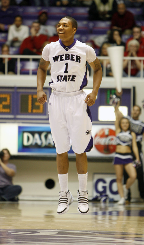 best sneakers 29099 e9aa7 Photos: Former Weber State star Damian Lillard drafted to ...
