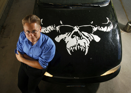 Francisco Kjolseth  |  The Salt Lake Tribune William Holloway, 28, is an uninsured veteran of the Iraq War who is likely to benefit from the Affordable Care Act, but opposes it on philosophical grounds. The USU student has shed his former mohawk and beard but still loves heavy metal music, including Danzig, whose symbol is on the hood of his car.