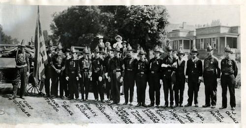 Tribune file photo  Salt Lake City Volunteer Fire Department. The department existed from 1853-1883.