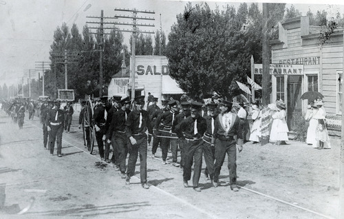 Tribune file photo  Sandy Volunteer Fire Department, 1906.