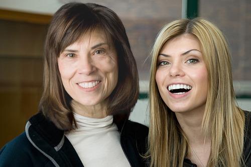 Salt Lake Tribune dance critic Kathy Adams and daughter Lindsey Adams, a freelance writer in New York City. (Courtesy image)