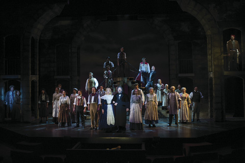 A scene from the Utah Shakespeare Festival's 2012 production of Les Misérables. Credit: Karl Hugh | Utah Shakespeare Festival 2012