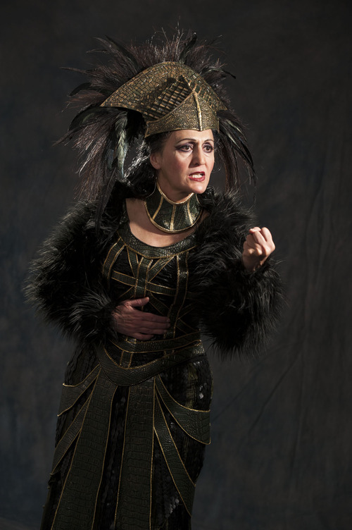 titus brings evil and revenge to cedar city the salt lake tribune jacqueline antaramian as tamora in the utah shakespeare festival s 2012 production of titus andronicus karl