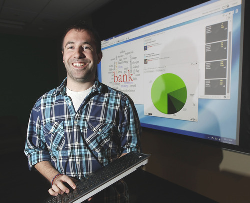 Al Hartmann  |  The Salt Lake Tribune   Zion's National Bank has committed itself to social media, hiring a three-person team to handle its Facebook, Twitter, YouTube and LinkedIn sites.