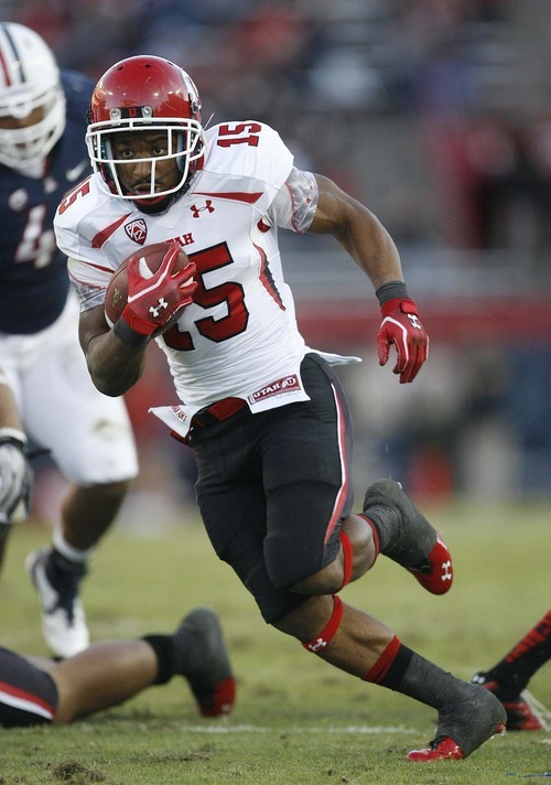 Trent Nelson  |  The Salt Lake Tribune Utah's John White, shown here running against Arizona, was the leading rusher in the Pac-12 last season. But the Utes still finished 4-5 in their first season in the conference.