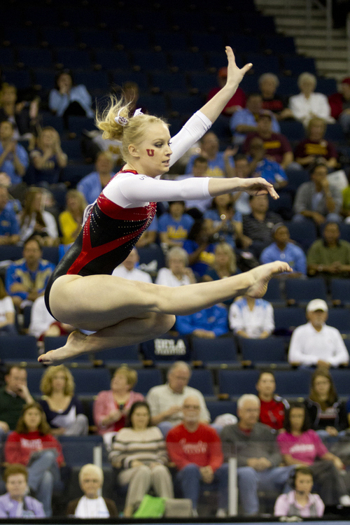 Utah's Georgia Dabritz and the rest of the Utes came up just short during their first season in the Pac-12, taking second place in the conference meet.