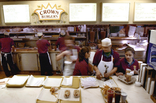 Lunch rush at Crown Burger. Tribune file photo