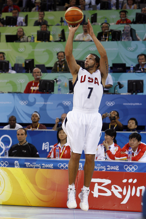 Tribune file photo Former Utah Jazz star Deron Williams is ready to help Team USA defend the Olympic gold medal it won in 2008.