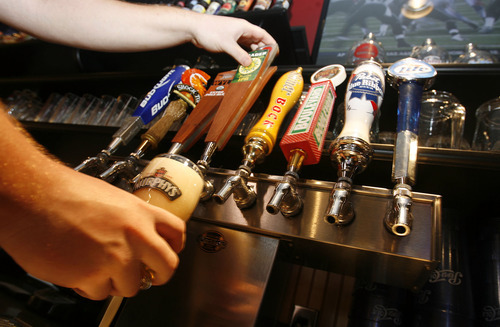 Francisco Kjolseth  |  The Salt Lake Tribune Under the new law, Wing Nutz converted summer seasonal permits (the only available licenses earlier this year) for year-round licenses for its restaurants in Park City and Ogden. The chain also converted five beer-only licenses to full-service permits once more licenses became available.