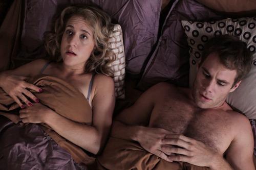 Jenn Harris and Matthew Wilkas star in