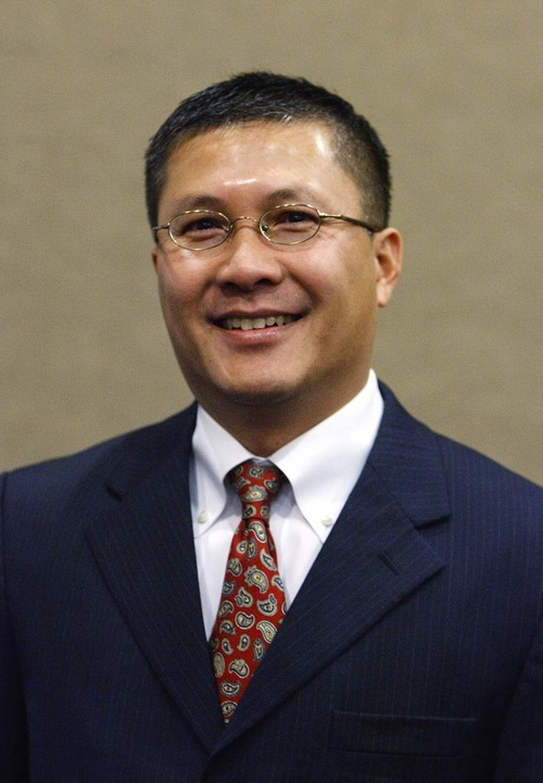Leah Hogsten | The Salt Lake Tribune   West Valley City Councilman Tom Huynh, a Vietnam native, was the first minority elected to the council.