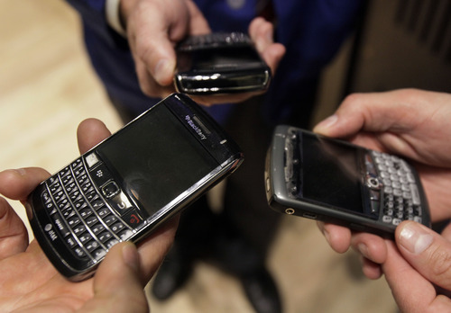 RIM CEO seeks patience until BlackBerry 10 ready - The Salt Lake Tribune
