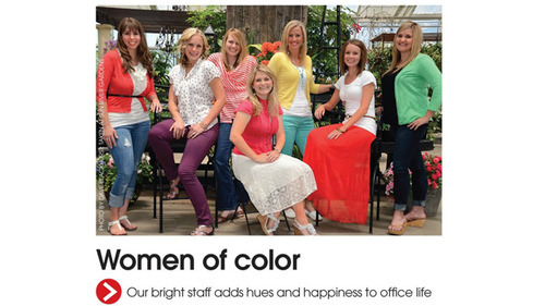 This headline and photo in Utah Valley magazine drew commentary from the national website Gawker.com, because of its use of the phrase