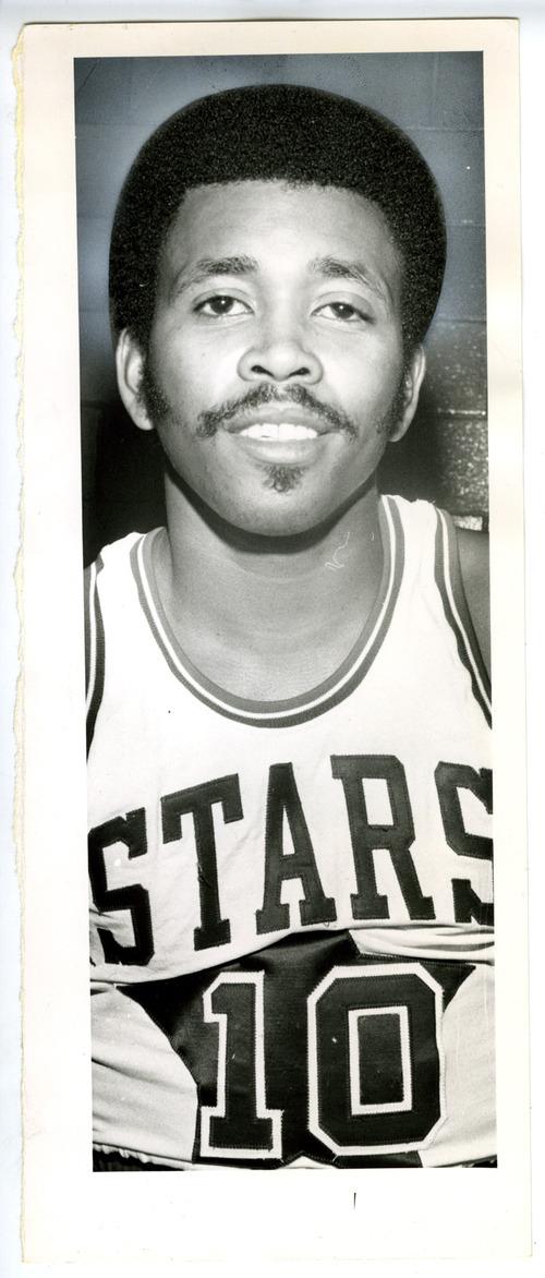 Tribune File Photo Mervin Jackson in Utah Stars basketball uniform. Oct. 26, 1972.