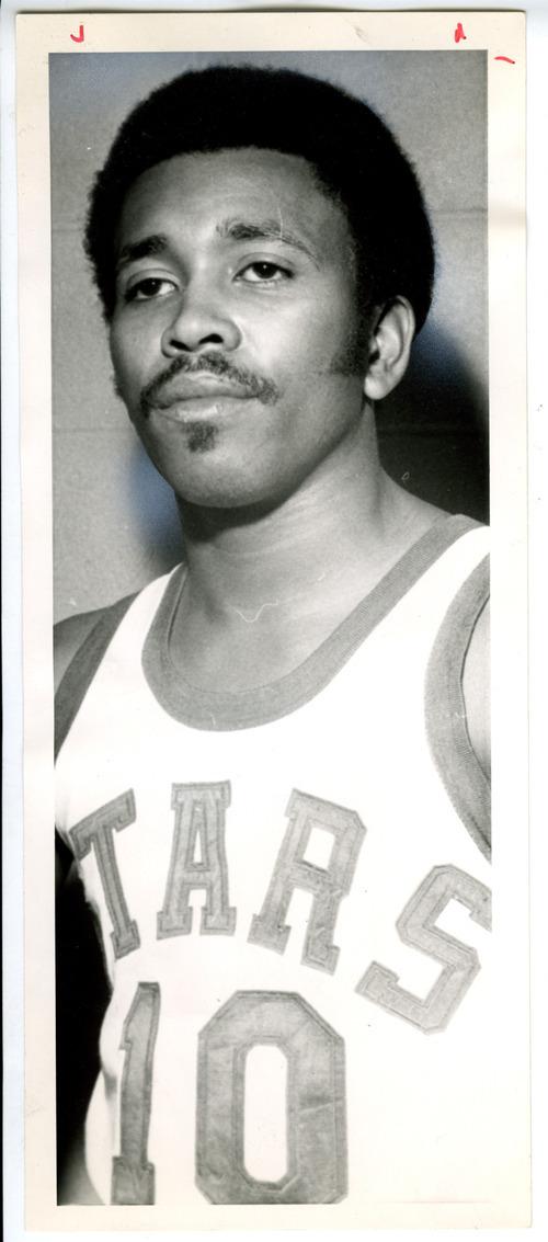 Tribune File Photo Mervin Jackson in Utah Stars basketball uniform. Sept. 28, 1971.