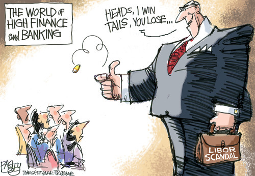 This Pat Bagley editorial cartoon appears in The Salt Lake Tribune on Thursday, July 12, 2012.