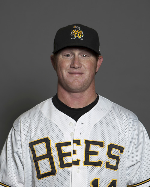Kole Calhoun of the Salt Lake Bees. Courtesy image.