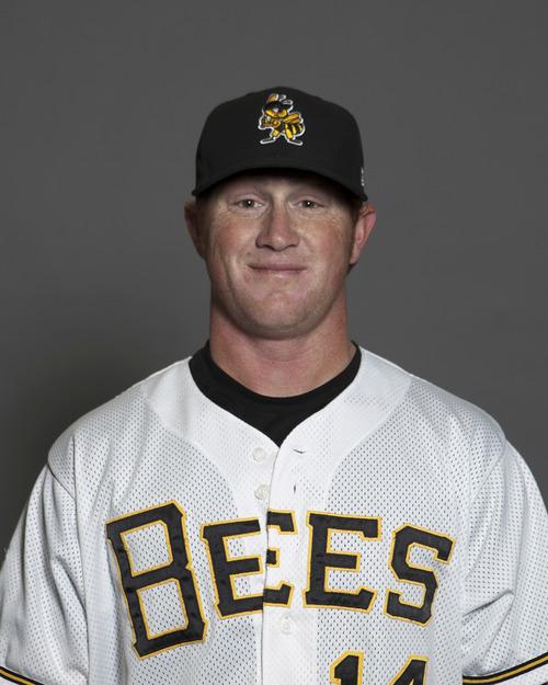 Kole Calhoun of the Salt Lake Bees. Courtesy image.