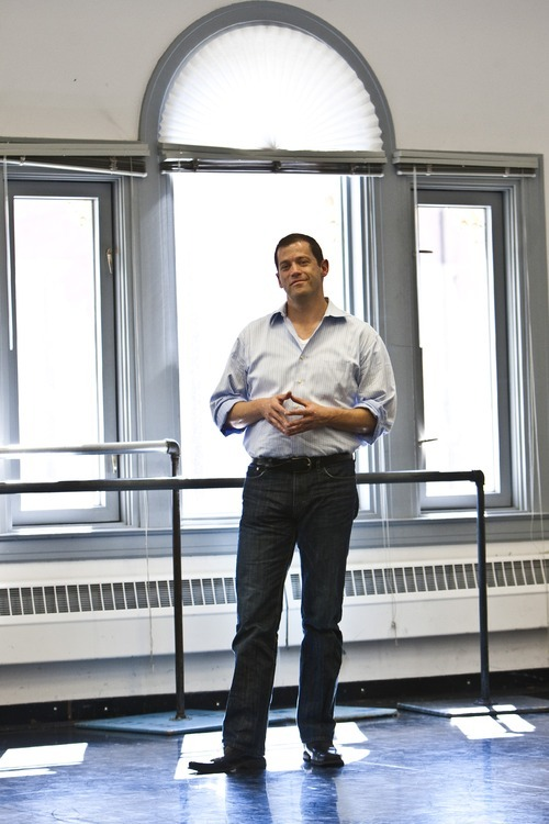 File     The Salt Lake Tribune  Ballet West Artistic Director Adam Sklute poses for a portrait during a rehearsal in 2010.