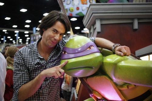 Actor Jerry Trainor attends Nickelodeon at Comic-Con on Thursday, July 12, 2012, in San Diego, Calif. (Photo by Joe Kohen/Invision for Nickelodeon/AP Images)