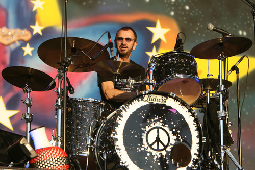 Steve Griffin | The Salt Lake Tribune Ringo Starr and His All-Starr Band perform at Usana Amphitheatre in West Valley City on Wednesday, July 11, 2012.