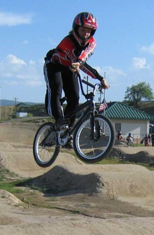 Courtesy photo Olympic BMX biker Arielle Martin.