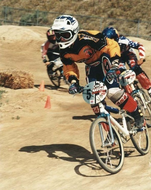 Courtesy photo Olympic BMX biker Arielle Martin at age 11.