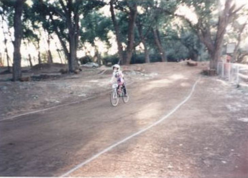 Courtesy photo Olympic BMX biker Arielle Martin at age 5.