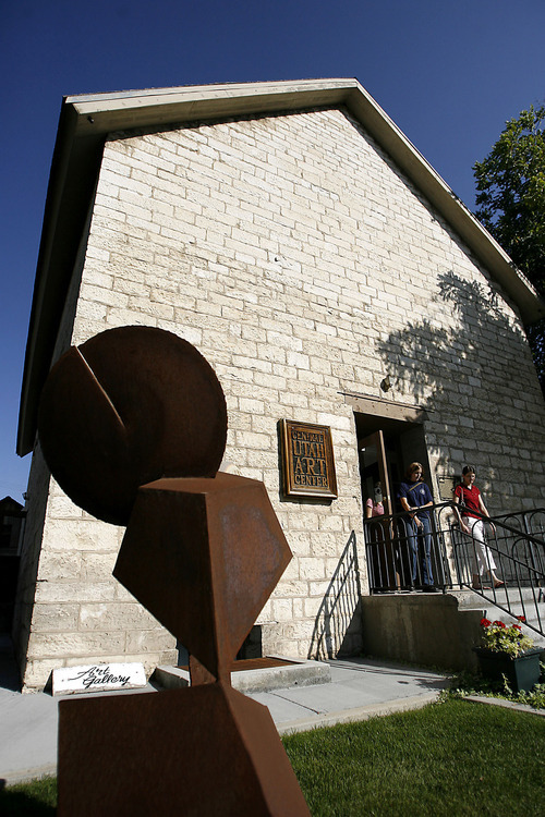 The Central Utah Art Center in Ephraim, housed in what used to be a ZCMI Granary and co-op building. CUAC, as it's known, will close the doors of its Ephraim gallery Aug. 20 after receiving an eviction notice from Ephraim City, which owns the space. Bateman believes the eviction stems from a controversial exhibit currently on display. David Parrish, mayor of Ephraim, said the center failed to live up to its agreement to fortify local art education programs.
