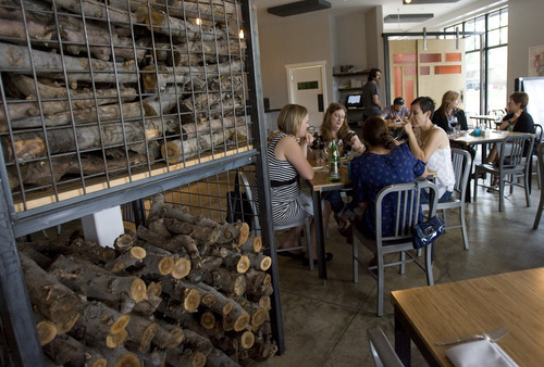 Kim Raff | The Salt Lake Tribune  Finca in Salt Lake City specializes in contemporary, Spanish-styled tapas made with locally sourced ingredients and served with a modern, vibrant interpretation.