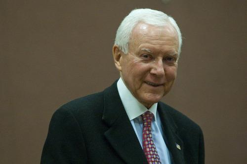Chris Detrick  |  Tribune file photo U.S. Sen. Orrin Hatch has spent more than $10 million in his bid for a seventh term.