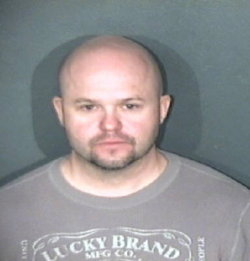 Brian Hedglin was booked into El Paso County jail on March 10, 2012 on harassment, theft and criminal mischief charges. Courtesy El Paso County Jail