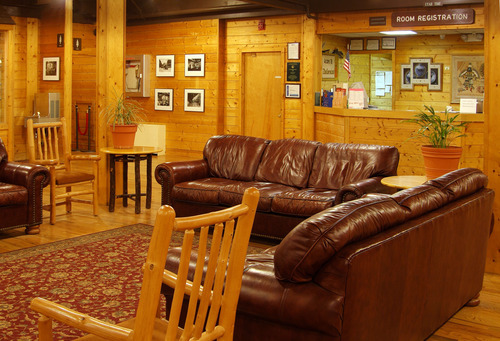 The Zion Lodge is a landmark and a great place for visitors to stay or simply relax at Utah's most popular national park. Courtesy image