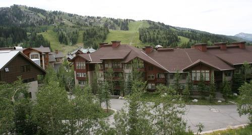 Steve Griffin | The Salt Lake Tribune Solitude Ski Resort in Big Cottonwood Canyon on Wednesday, July 18, 2012.