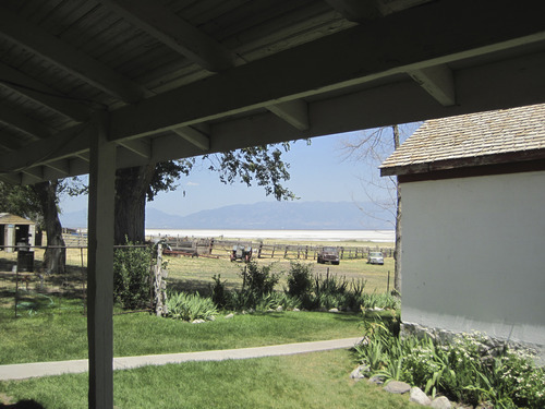 Tom Wharton | The Salt Lake Tribune The grounds at Garr Ranch on Antelope Island.