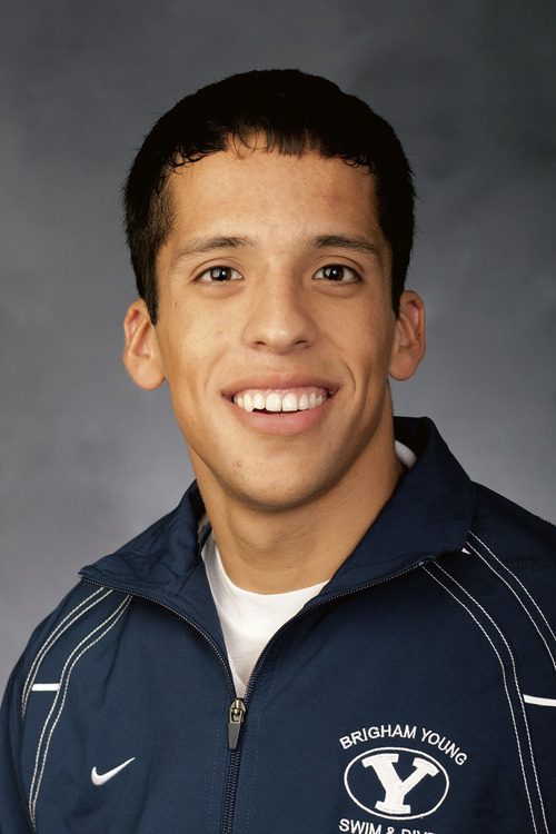 BYU swimmer Andrew Rutherfurd will compete in the upcoming Olympics. Courtesy Jonathan Hardy     BYU