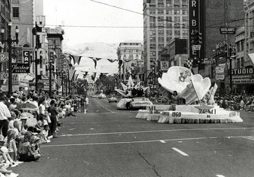 1964 Days of '47 parade in Salt Lake City.